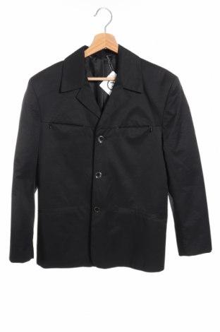 Детско сако, Размер 13-14y/ 164-168 см, Цвят Черен, 57% памук, 43% полиамид, Цена 5,50лв.