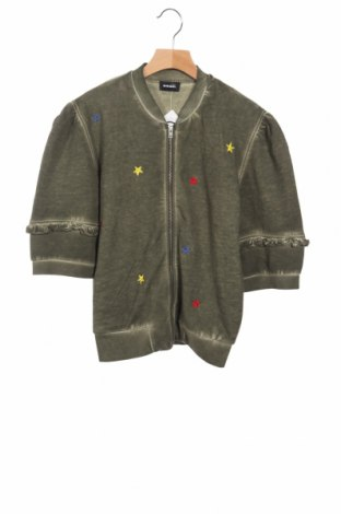 Детско яке Diesel, Размер 12-13y/ 158-164 см, Цвят Зелен, 100% памук, Цена 20,74лв.