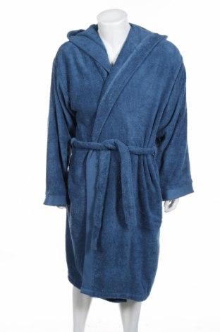 Župan pre kúpeľňu Frette 1860, Veľkosť L, Farba Modrá, Bavlna, Cena  82,78€