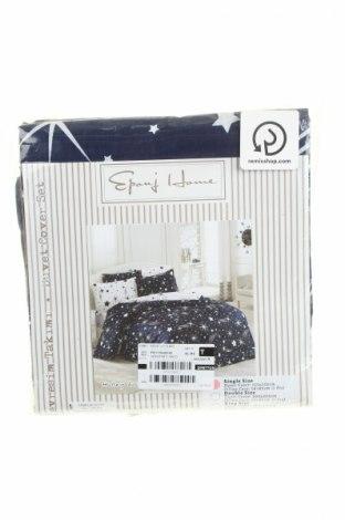 Set lenjerie de pat Eponj Home, Culoare Albastru, Bumbac, Preț 152,53 Lei