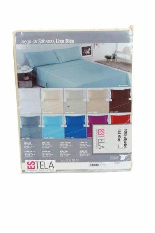 Set lenjerie de pat Es-Tela, Culoare Bej, Bumbac, Preț 142,58 Lei