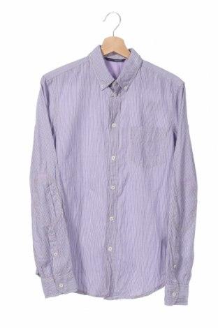Мъжка риза Gas, Размер S, Цвят Лилав, 100% памук, Цена 68,40лв.