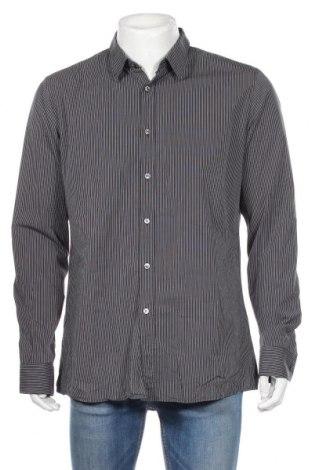 Ανδρικό πουκάμισο Hugo Boss, Μέγεθος XL, Χρώμα Γκρί, 100% βαμβάκι, Τιμή 31,18€