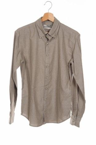 Ανδρικό πουκάμισο Mango, Μέγεθος XS, Χρώμα  Μπέζ, Βαμβάκι, Τιμή 20,04€