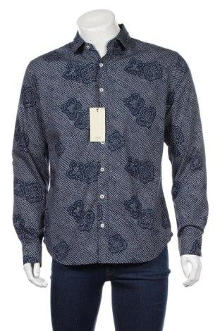 Pánska košeľa  Mango, Veľkosť L, Farba Modrá, Bavlna, Cena  20,04€