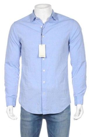 Pánska košeľa  Mango, Veľkosť S, Farba Modrá, Bavlna, Cena  20,04€