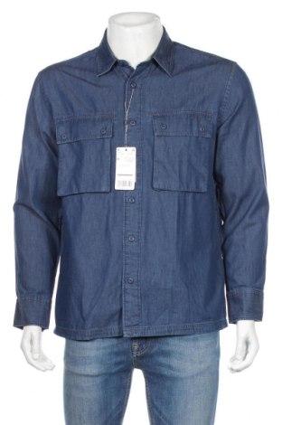 Pánská košile  Mango, Rozměr M, Barva Modrá, Bavlna, Cena  564,00Kč
