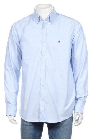 Ανδρικό πουκάμισο Red Green, Μέγεθος L, Χρώμα Μπλέ, Βαμβάκι, Τιμή 12,34€