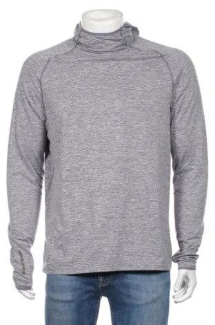 Мъжка спортна блуза Active By Tchibo, Размер M, Цвят Сив, 88% полиестер, 12% еластан, Цена 18,95лв.
