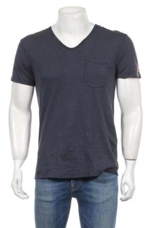 Męski T-shirt Tom Tailor, Rozmiar S, Kolor Szary, Bawełna, Cena 48,00zł