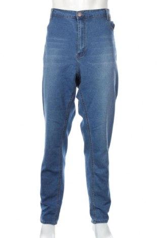 Pánske džínsy  Boohoo, Veľkosť XXL, Farba Modrá, 65% bavlna, 33% polyester, 2% elastan, Cena  13,36€