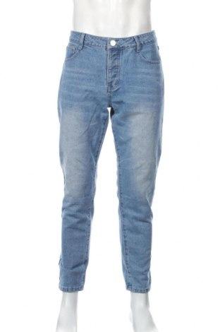 Pánske džínsy  Boohoo, Veľkosť L, Farba Modrá, Cena  14,10€