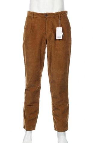 Ανδρικό κοτλέ παντελόνι Mango, Μέγεθος M, Χρώμα Καφέ, 98% βαμβάκι, 2% ελαστάνη, Τιμή 21,90€
