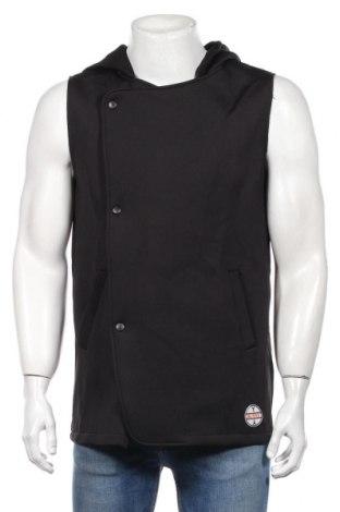 Pánska vesta , Veľkosť L, Farba Čierna, 95% polyester, 5% elastan, Cena  15,00€