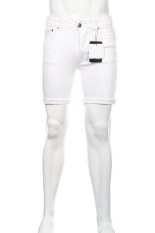 Pánske kraťasy  Boohoo, Veľkosť S, Farba Biela, 98% bavlna, 2% elastan, Cena  9,84€