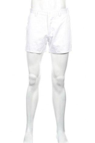 Ανδρικό κοντό παντελόνι Boohoo, Μέγεθος M, Χρώμα Λευκό, 100% βαμβάκι, Τιμή 3,51€