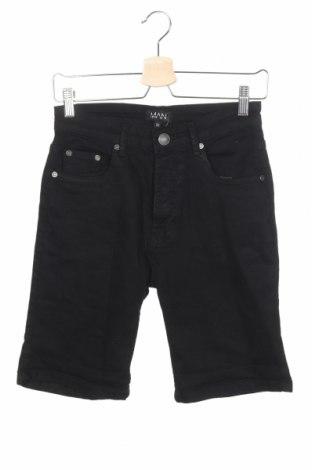 Pánske kraťasy  Boohoo, Veľkosť S, Farba Čierna, 98% bavlna, 2% elastan, Cena  9,84€
