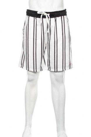 Pánske kraťasy  Boohoo, Veľkosť XL, Farba Biela, 95% polyester, 5% elastan, Cena  9,84€