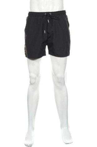 Pánske kraťasy  Boohoo, Veľkosť M, Farba Čierna, Polyester, Cena  7,65€