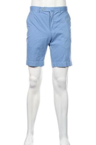 Pánske kraťasy  Hackett, Veľkosť M, Farba Modrá, 99% bavlna, 1% elastan, Cena  56,19€