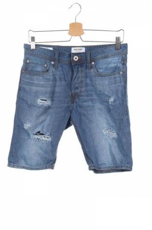 Pánske kraťasy  Jack & Jones, Veľkosť S, Farba Modrá, 100% bavlna, Cena  18,85€