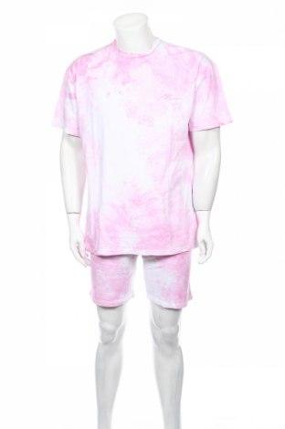 Pánsky komplet  Boohoo, Veľkosť S, Farba Ružová, Bavlna, Cena  19,49€