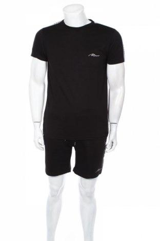 Pánsky komplet  Boohoo, Veľkosť S, Farba Čierna, 50% bavlna, 50% polyester, Cena  14,74€