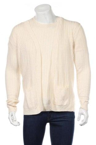 Мъжки комплект Boohoo, Размер M, Цвят Екрю, 50% акрил, 50% памук, Цена 59,00лв.