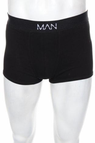 Pánsky komplet  Boohoo, Veľkosť M, Farba Čierna, 65% bavlna, 30% polyester, 5% elastan, Cena  10,82€