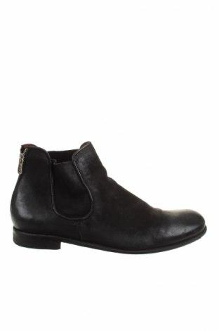 Ανδρικά παπούτσια A.S. 98, Μέγεθος 45, Χρώμα Μαύρο, Γνήσιο δέρμα, Τιμή 87,55€