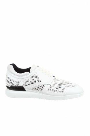 Мъжки обувки Emporio Armani, Размер 43, Цвят Бял, Естествена кожа, Цена 239,85лв.