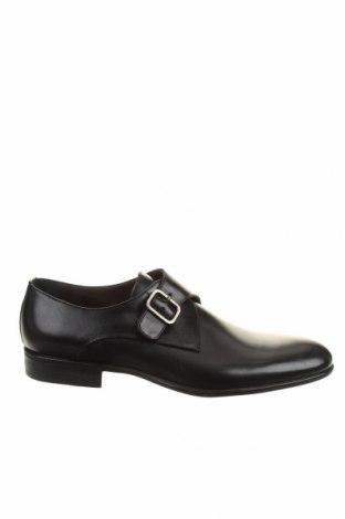 Мъжки обувки Moreschi, Размер 41, Цвят Черен, Естествена кожа, Цена 369,85лв.