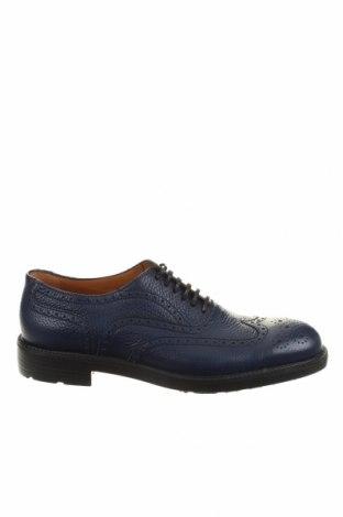 Мъжки обувки Moreschi, Размер 40, Цвят Син, Естествена кожа, Цена 369,85лв.