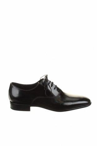Мъжки обувки Moreschi, Размер 40, Цвят Черен, Естествена кожа, Цена 369,85лв.