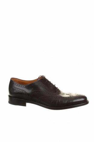 Мъжки обувки Moreschi, Размер 43, Цвят Кафяв, Естествена кожа, Цена 369,85лв.