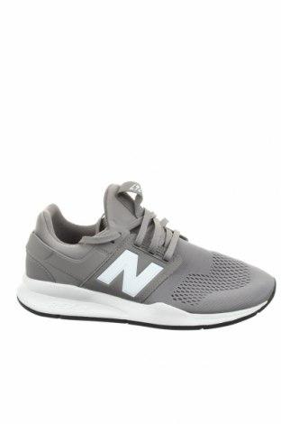 Ανδρικά παπούτσια New Balance, Μέγεθος 43, Χρώμα Γκρί, Κλωστοϋφαντουργικά προϊόντα, Τιμή 56,90€