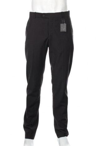 Ανδρικό παντελόνι H.E. By Mango, Μέγεθος L, Χρώμα Μαύρο, 70% πολυεστέρας, 30% βισκόζη, Τιμή 23,75€