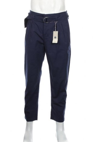 Ανδρικό παντελόνι Mango, Μέγεθος M, Χρώμα Μπλέ, 97% βαμβάκι, 3% ελαστάνη, Τιμή 21,90€