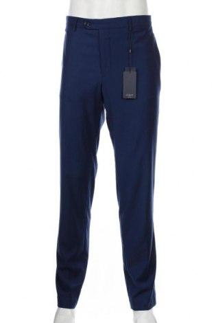 Ανδρικό παντελόνι Mango, Μέγεθος L, Χρώμα Μπλέ, 69% πολυεστέρας, 29% βισκόζη, 2% ελαστάνη, Τιμή 25,61€