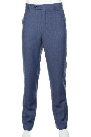 Ανδρικό παντελόνι Mango, Μέγεθος M, Χρώμα Μπλέ, 81% πολυεστέρας, 19% βισκόζη, Τιμή 24,49€