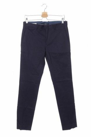 Ανδρικό παντελόνι Mango, Μέγεθος S, Χρώμα Μπλέ, 97% βαμβάκι, 3% ελαστάνη, Τιμή 25,61€