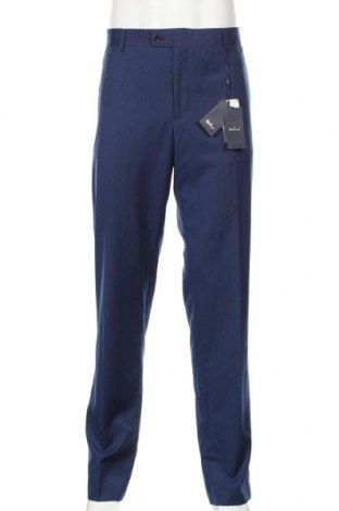 Ανδρικό παντελόνι Mango, Μέγεθος L, Χρώμα Μπλέ, 75% πολυεστέρας, 25% βισκόζη, Τιμή 25,61€