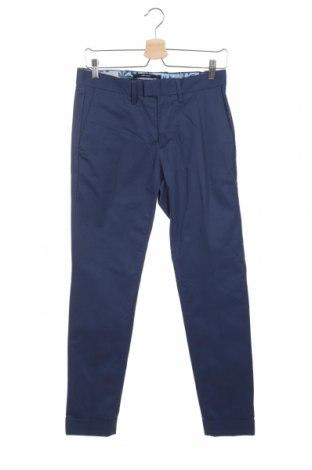 Ανδρικό παντελόνι Mango, Μέγεθος S, Χρώμα Μπλέ, 97% βαμβάκι, 3% ελαστάνη, Τιμή 29,32€