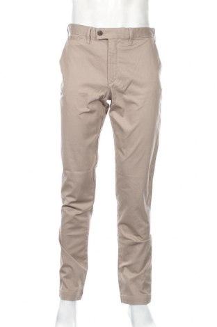 Ανδρικό παντελόνι Mango, Μέγεθος M, Χρώμα  Μπέζ, 98% βαμβάκι, 2% ελαστάνη, Τιμή 25,61€