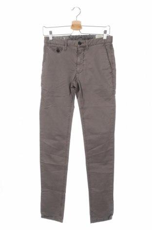Ανδρικό παντελόνι Mango, Μέγεθος XS, Χρώμα Γκρί, 96% βαμβάκι, 4% ελαστάνη, Τιμή 25,61€