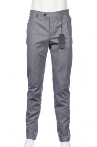 Ανδρικό παντελόνι Mango, Μέγεθος M, Χρώμα Μπλέ, 98% βαμβάκι, 2% ελαστάνη, Τιμή 25,61€