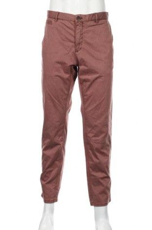 Ανδρικό παντελόνι Mango, Μέγεθος M, Χρώμα Ρόζ , 97% βαμβάκι, 3% ελαστάνη, Τιμή 21,90€
