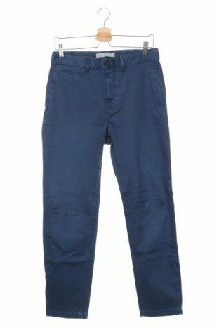 Pantaloni de bărbați Mango, Mărime S, Culoare Albastru, 98% bumbac, 2% elastan, Preț 136,19 Lei