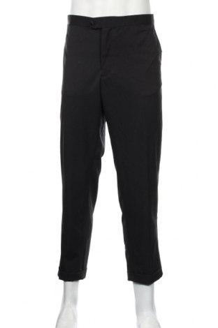 Pantaloni de bărbați Mango, Mărime XL, Culoare Negru, 95% poliester, 5% elastan, Preț 136,19 Lei