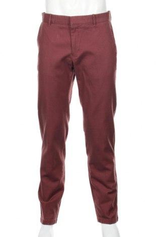 Pantaloni de bărbați Mango, Mărime XL, Culoare Roșu, Bumbac, Preț 136,19 Lei